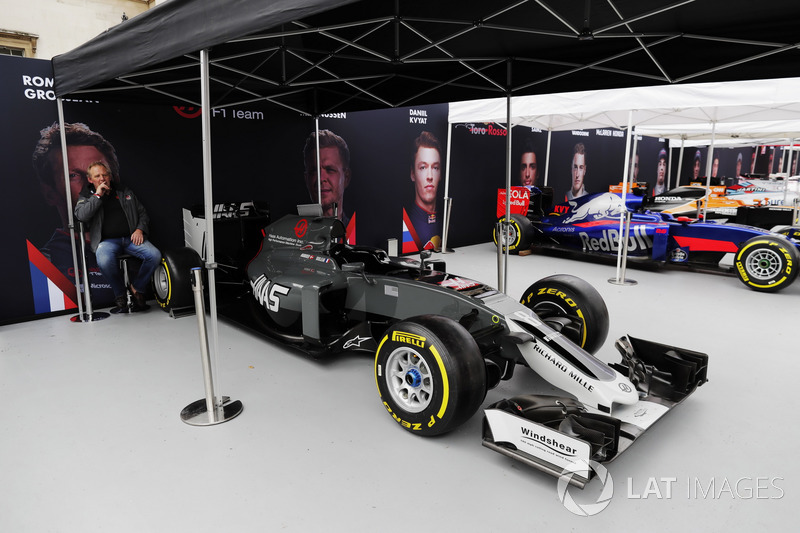 Haas F1 Team, Scuderia Toro Rosso, McLaren und Williams