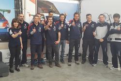 Il team Peugeot Sport