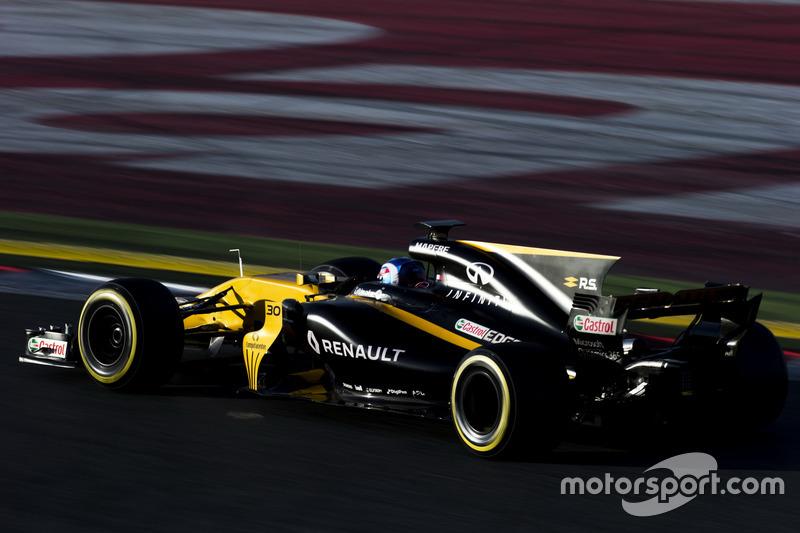 Jolyon Palmer, Renault F1 Team RS 17