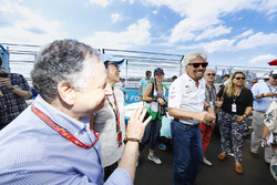 Jean Todt and Richard Branson