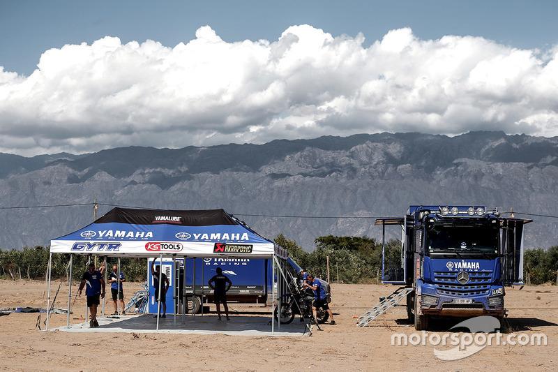 Zona del Yamaha team