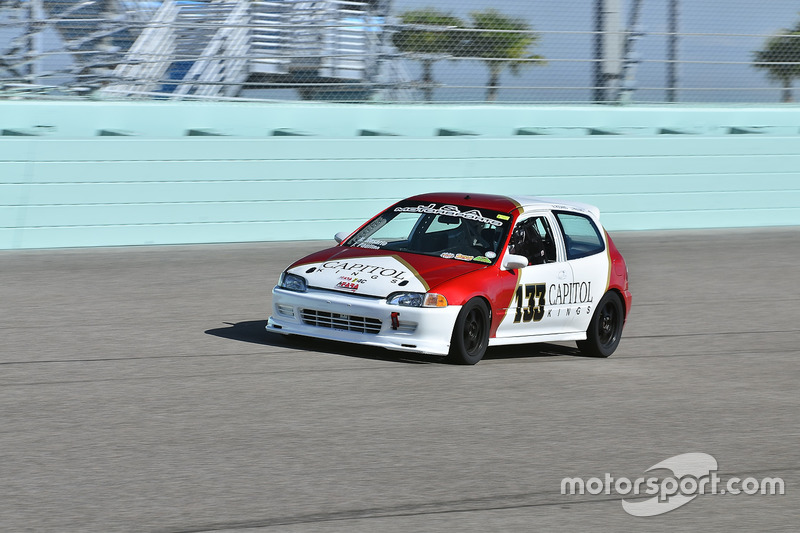#133 MP4C Honda Civic driven by Juan Paulino of J&A Motorsports