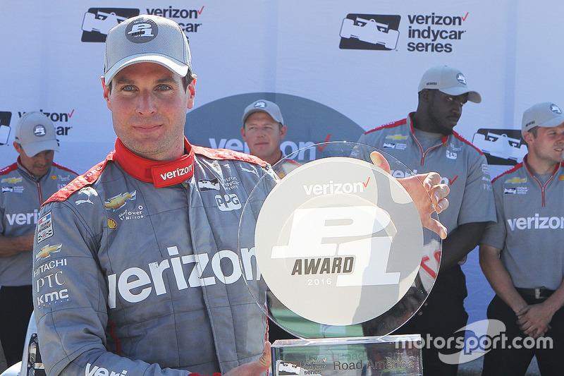 Pole pozisyonu Will Power, Team Penske Chevrolet