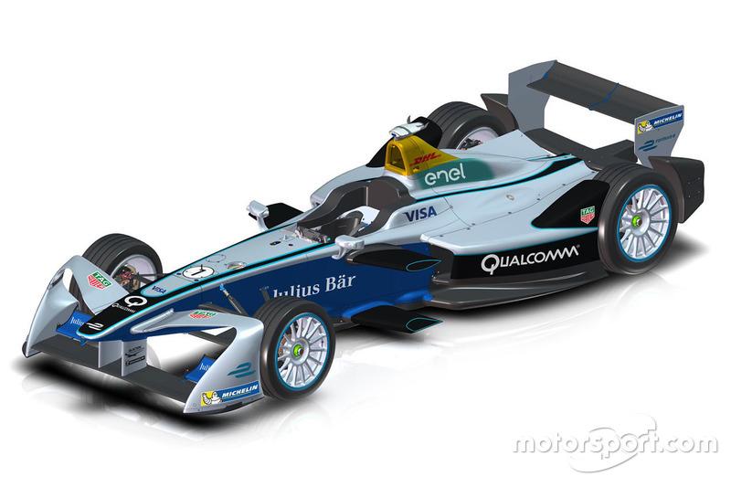 Neuer Frontflügel der Formel E