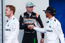 Polesitter Lewis Hamilton, Mercedes AMG F1 Team, second place Nico Rosberg, Mercedes AMG F1 Team, th