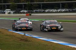 Максимилиан Гётц, Mercedes-AMG Team HWA, Mercedes-AMG C63 DTM; Тимо Шайдер, Audi Sport Team Phoenix,