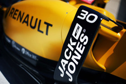 Часть машины Renault Sport F1 Team RS16