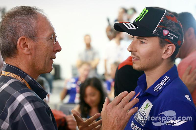 Christian Sarron, Jorge Lorenzo, Yamaha Factory Racing