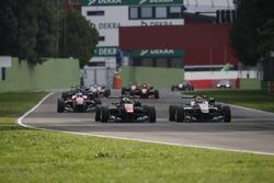 Joel Eriksson, Motopark, Dallara F312, Volkswagen; George Russell, HitechGP, Dallara F312, Mercedes-