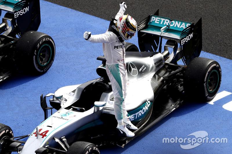 15: Гран Прі Мексики, Мехіко. Переможець Льюіс Хемілтон, Mercedes AMG F1
