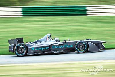 Jaguar Formel-E-Test
