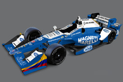 Neues Design für Carlos Munoz, Andretti Autosport, Honda