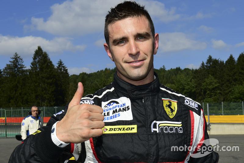 GTE-Polesitter: #56 AT Racing, Ferrari F458 Italia: Alessandro Pier Guidi