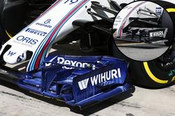 Williams FW38, Flügeldetail