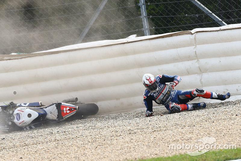La caduta di Loris Baz, Avintia Racing
