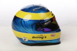 Casco de Sébastien Bourdais, Dale Coyne Racing with Vasser-Sullivan Honda