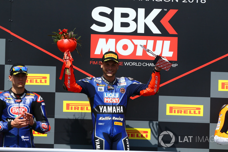 Podium: Sandro Cortese, Kallio Racing