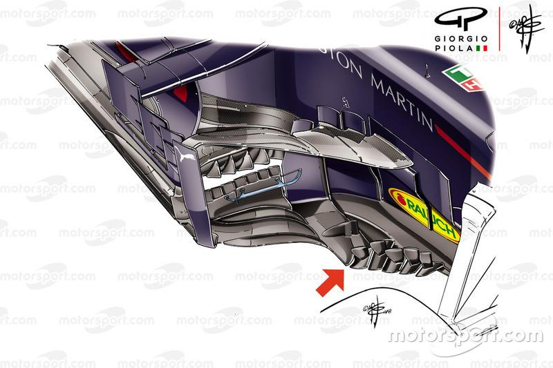 """تفاصيل جانب سيارة """"آر.بي14"""" في جائزة فرنسا الكبرى"""