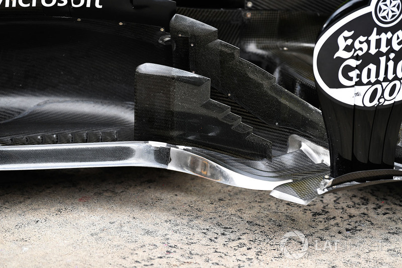 Renault Sport F1 Team R.S. 18 barge board and aero detail
