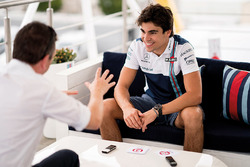Lance Stroll, Williams durante una entrevista para F1 Racing magazine