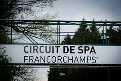 Entrée du Circuit de Spa-Francorchamps