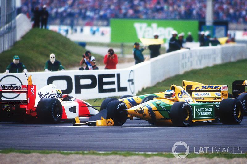 9 - Confrontos com Schumacher