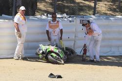 Accidente de Toprak Razgatlioglu, Kawasaki Puccetti Racing