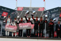 Podium: Racewinnaar #1 Belgian Audi Club Team WRT Audi R8 LMS: Alex Riberas, Christopher Mies, tweede plaats #88 Akka ASP Team Mercedes-AMG GT3: Raffaele Marciello, Michael Meadows, derde plaats #63 GRT Grasser Racing Team Lamborghini Huracan GT3: Mirko Bortolotti, Christian Engelhart