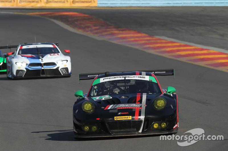 #73 Park Place Motorsports Porsche 911 GT3 R, GTD: Patrick Lindsey, Jörg Bergmeister