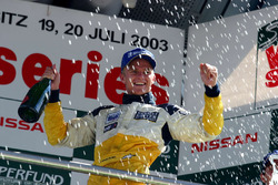 Podio: ganador de la carrera 2 Heikki Kovalainen, Gabord Competition