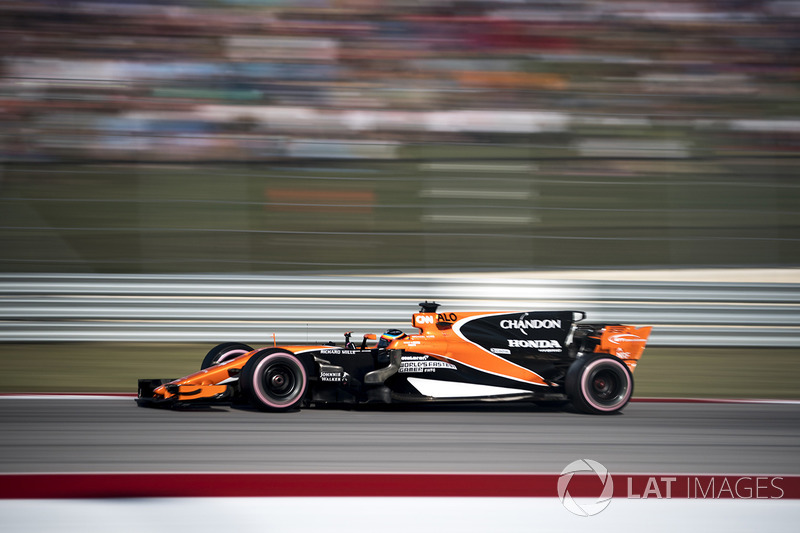 Fernando Alonso não foi além da 13ª posição no México.