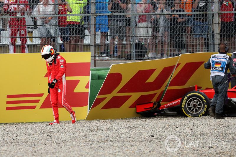 DNF: Sebastian Vettel, Ferrari SF71H