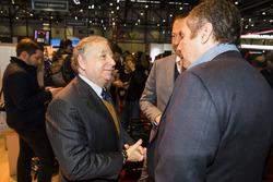Jean Todt, FIA President, Gerhard Berger
