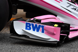 Sahara Force India VJM11 front wing detail