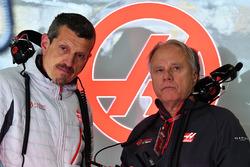 Guenther Steiner, Haas F1 Takım Patronu ve Gene Haas, Direktör, Haas F1 Team