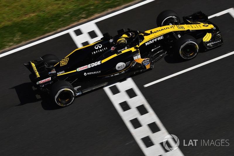 16. Nico Hulkenberg, Renault Sport F1 Team R.S. 18
