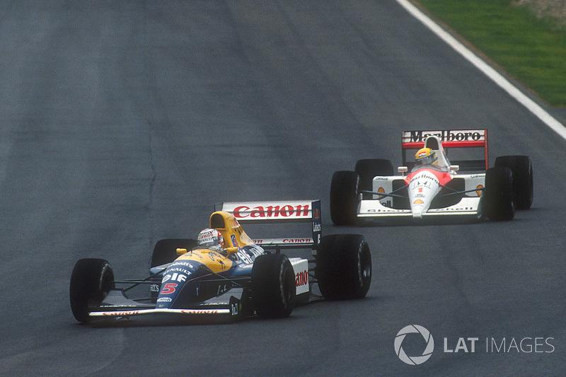 1991: Nigel Mansell, Williams FW14 Renault