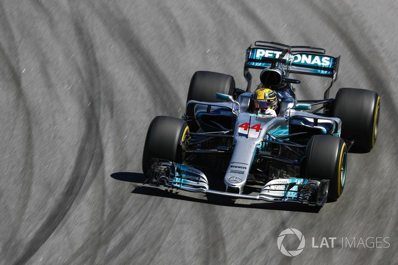 8: Lewis Hamilton, Mercedes AMG F1