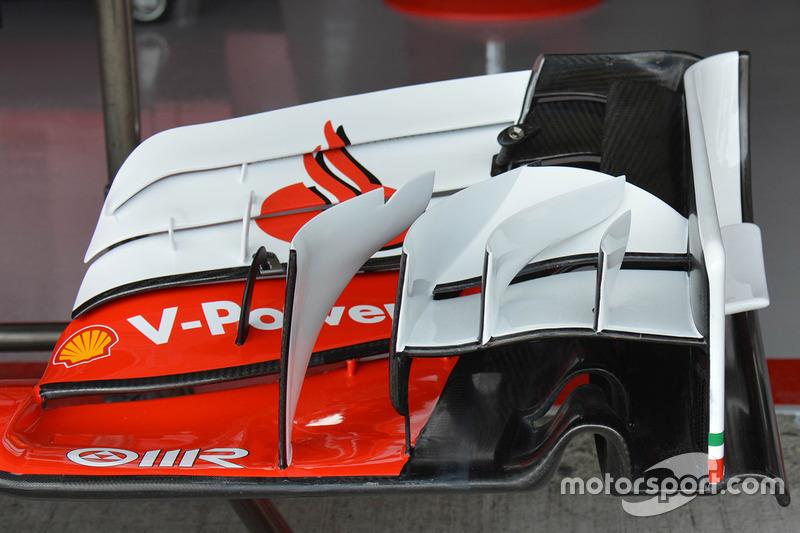 Ferrari SF16-H front wing detail