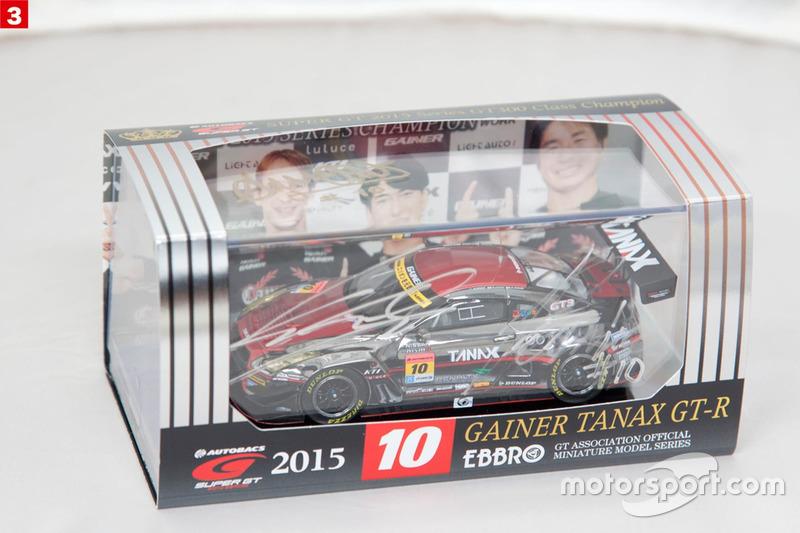 スーパーGTプレゼント:No.3 GAINER TANAX GT-R(2015年)