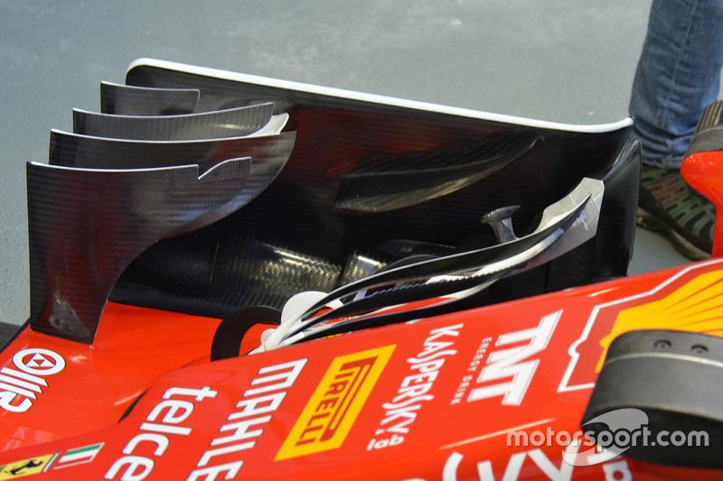 الجناح الأمامي لسيارة فيراري إس.إف16-اتش