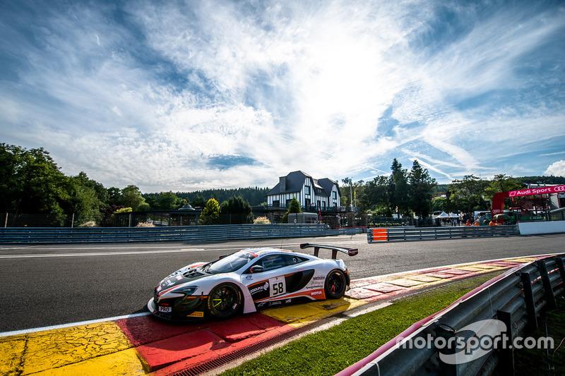 4. #58 Garage 59, McLaren 650 S GT3: Shane Van Gisbergen, Côme Ledogar, Rob Bell