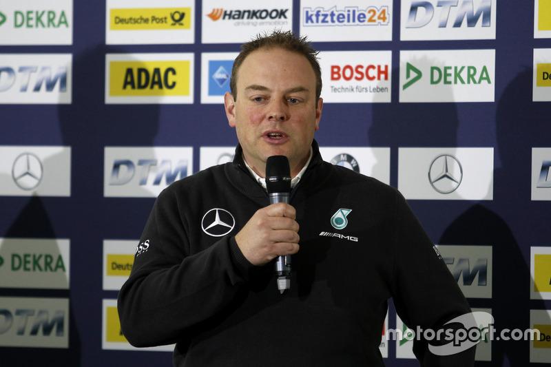 Press conference: Ullrich Fritz, Team Principal Mercdes AMG