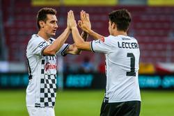 Miroslav Klose, Fußballspieler und Charles Leclerc, GP3-Fahrer