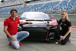 Marco Bonanomi und Mikaela Ahlin-Kottulinsky, Aust Motorsport