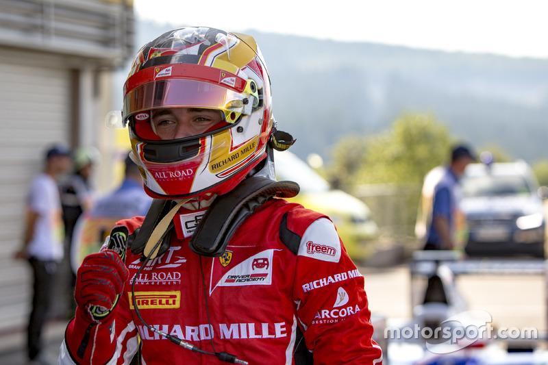 Poleman Charles Leclerc, ART Grand Prix