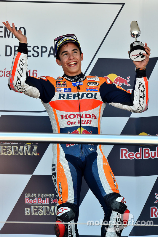 Podium : le troisième, Marc Marquez, Repsol Honda Team