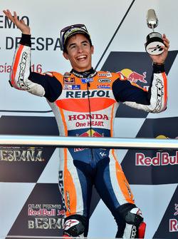 Podium: tercero, Marc Márquez, Repsol Honda Team