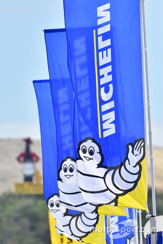Michelin tire signage