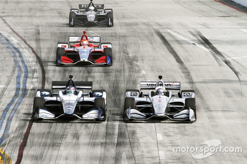 Max Chilton, Carlin Chevrolet Josef Newgarden, Team Penske Chevrolet